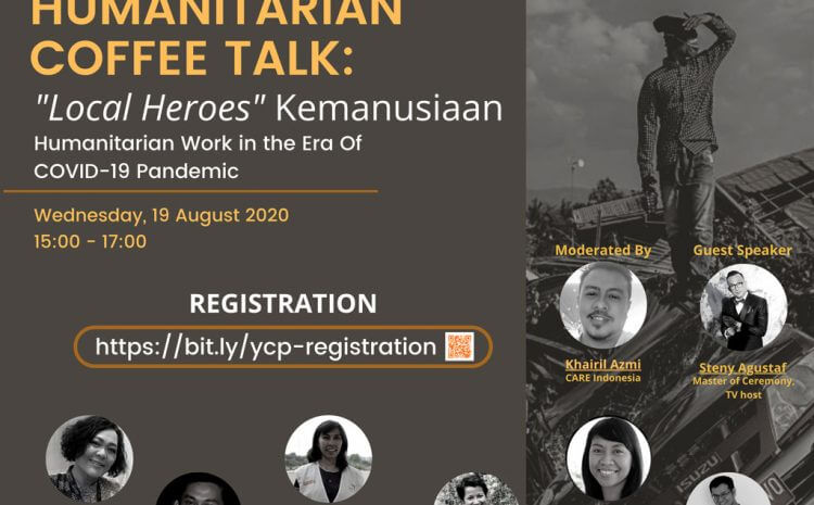 "Humanitarian Coffee Talk: ""Local Heroes"" Kemanusiaan"