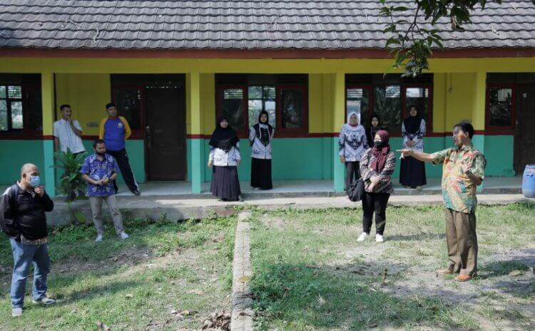 PREPARATIONS FOR THE CONSTRUCTION OF SCHOOL TOILETS IN SERANG AND BONE DISTRICTS