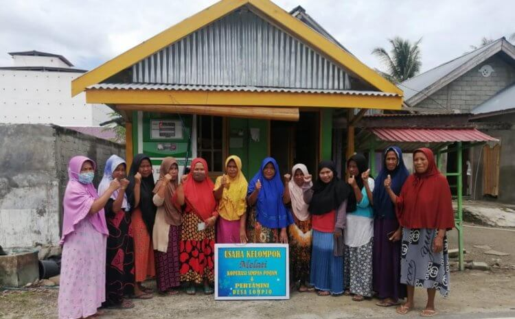 BUSINESS DIVERSIFICATION FOR THE RECOVERY OF THE MELATI GROUP, LOMPIO VILLAGE, DONGGALA