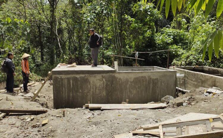 HANDOVER OF CLEAN WATER FACILITIES IN CENTRAL SULAWESI